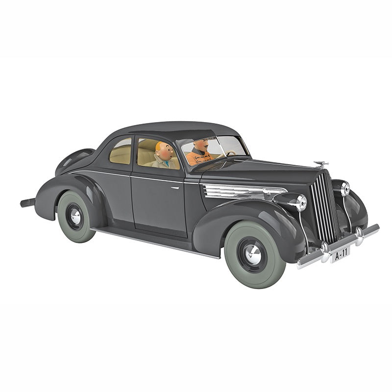 TINTIN CARS 1/24 - THE PACKARD OF MUSKAR XII