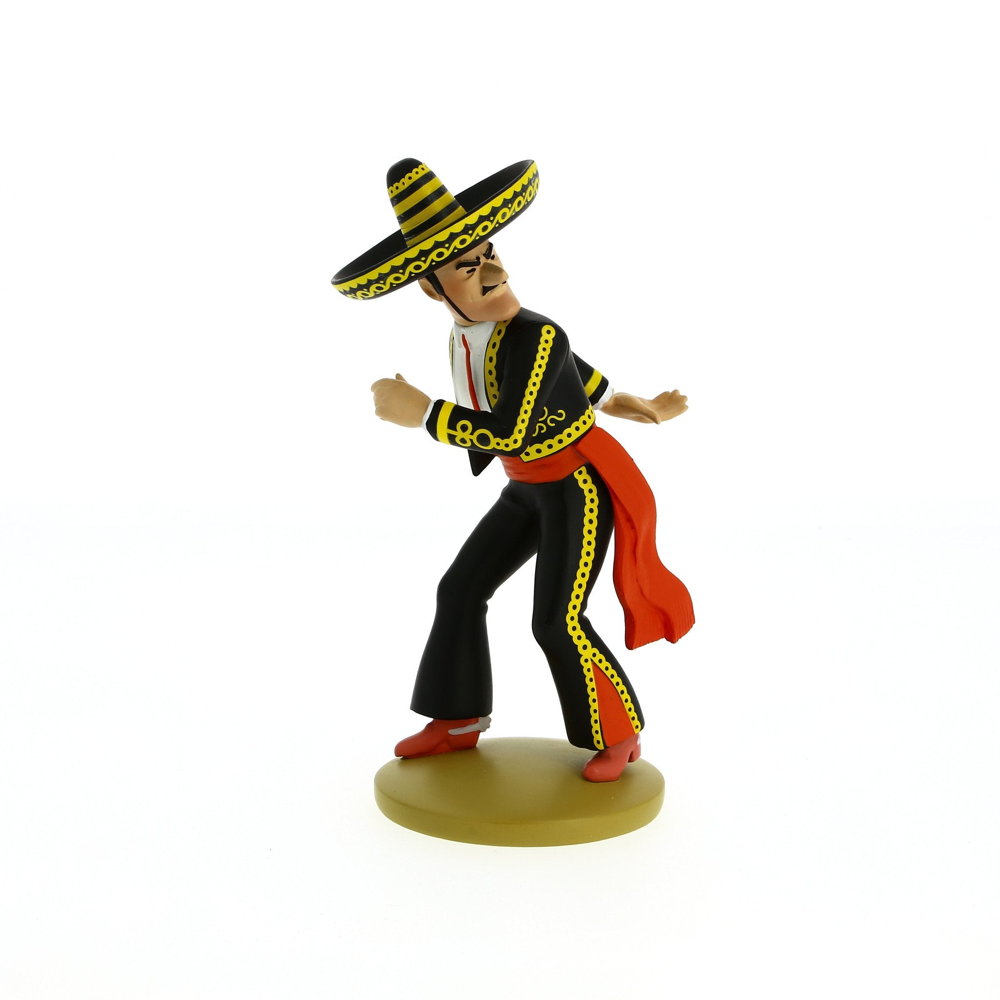 RESIN FIGURINE - ALCAZAR KNIFE THROWER