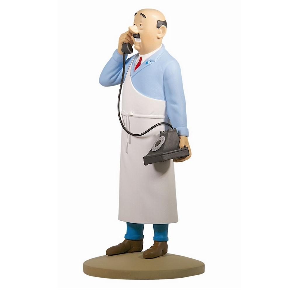 RESIN FIGURINE - E. CUTTS THE BUTCHER