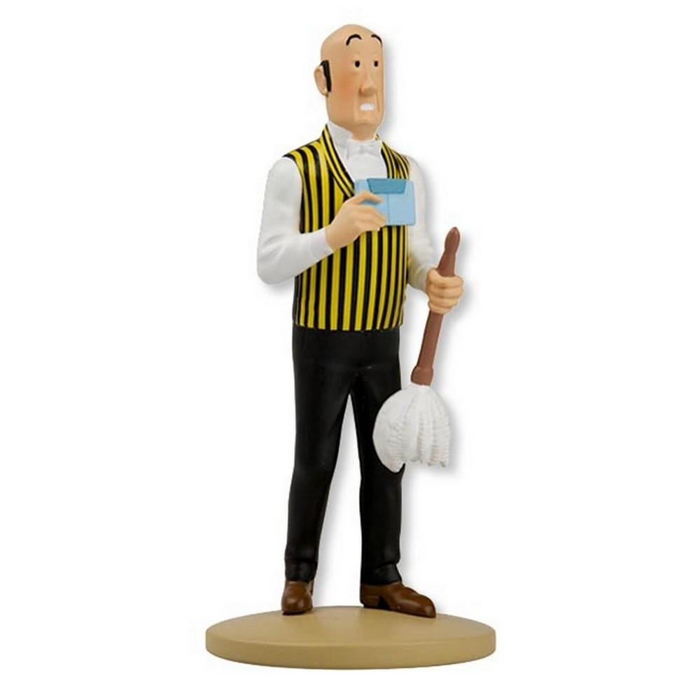 RESIN FIGURINE - NESTOR WITH FEATHER DUSTER