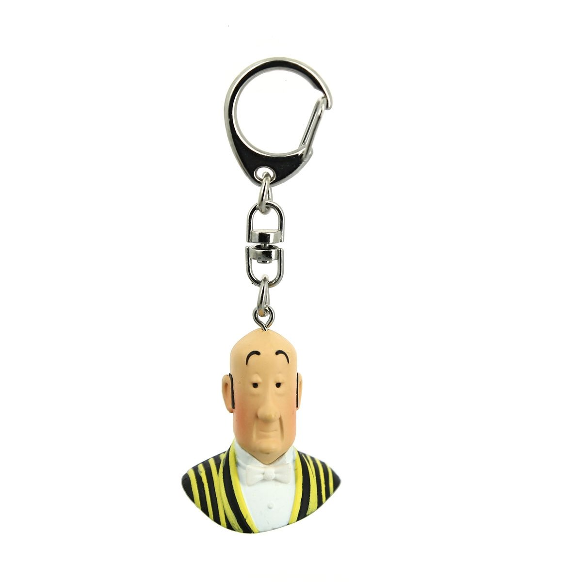 PVC BUST KEY RING - NESTOR