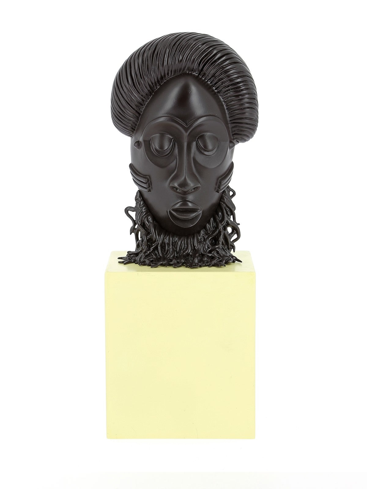 RESIN COLLECTIBLE - MUSEUM COLLECTION AFRICAN MASK