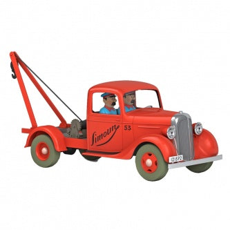 TINTIN CARS 1/24 - THE TOW SIMOUN