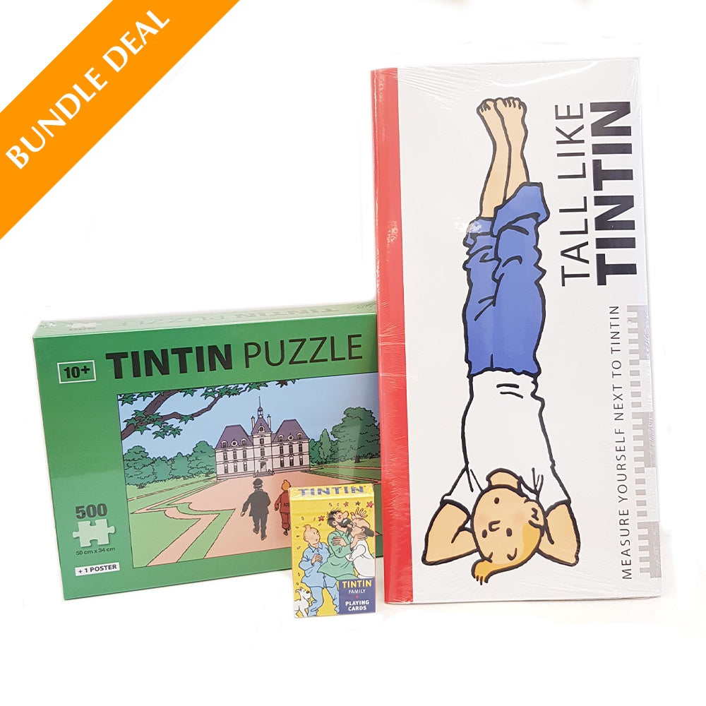 BUNDLE - JIGSAW PUZZLE + PLAYING CARDS + HEIGHT CHART