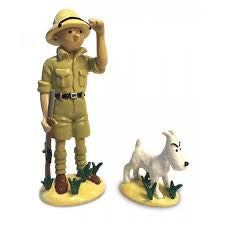 LEAD - TINTIN & SNOWY IN CONGO