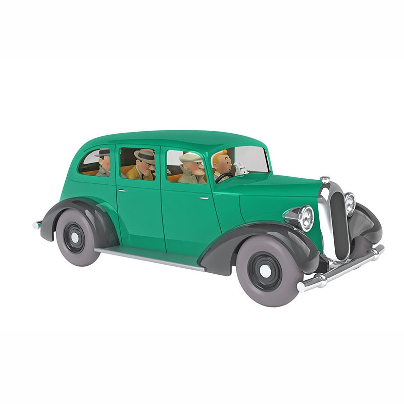 TINTIN CARS 1/24 - THE GREEN GANGSTERS CARS