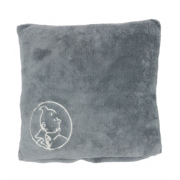 CUSHION - TINTIN GREY