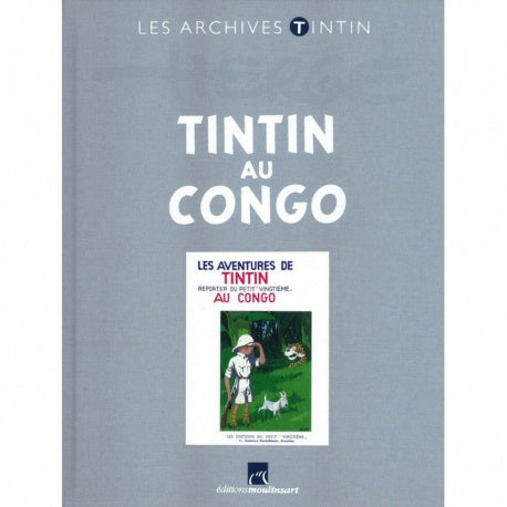 FR COVER ALBUM - LES ARCHIVES CONGO