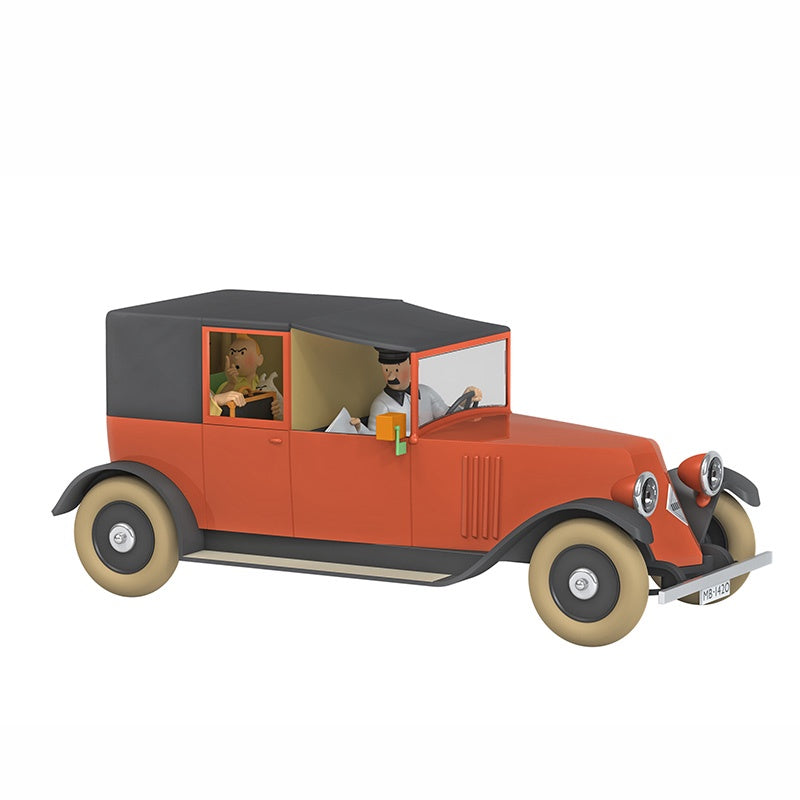 TINTIN CARS 1/24 - THE RED TAXI