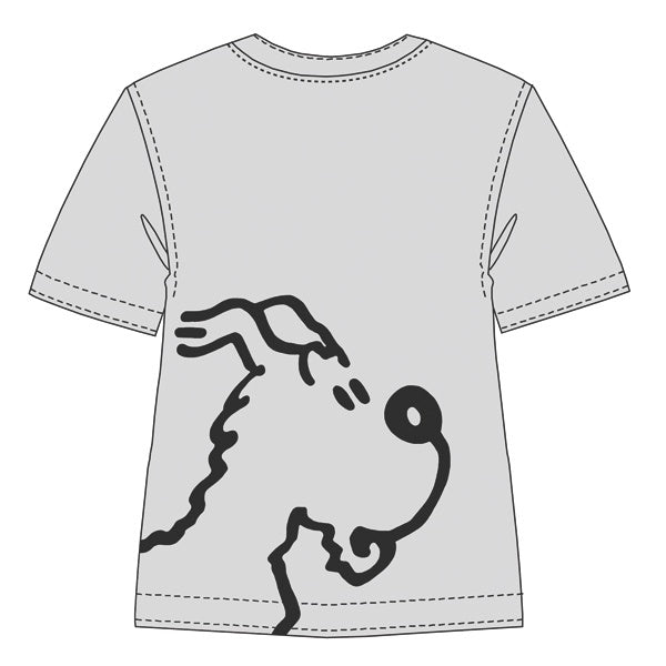 TEE-SHIRT SNOWY GREY