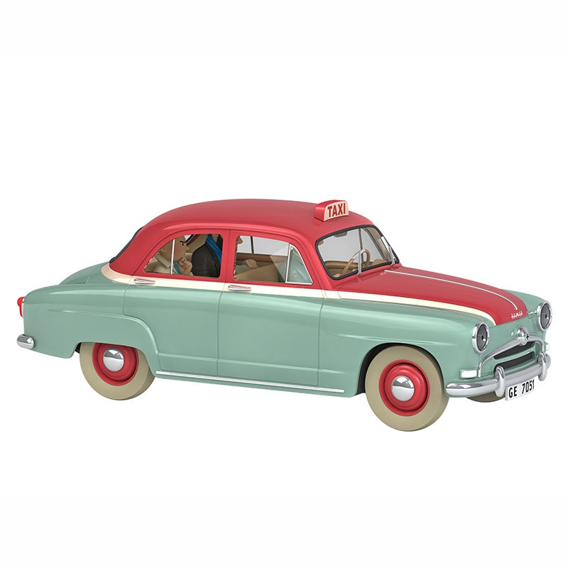 TINTIN CARS 1/24 - THE TAXI SIMCA