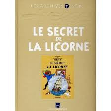 FR COVER ALBUM - LES ARCHIVES SECRET OF THE UNICORN