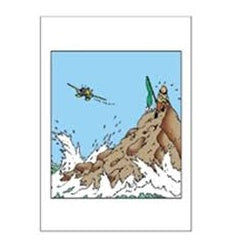 GREETING CARDS - TINTIN ON ISLAND