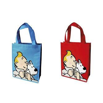 RECYCLED BAG - TINTIN & SNOWY 2 COLORS