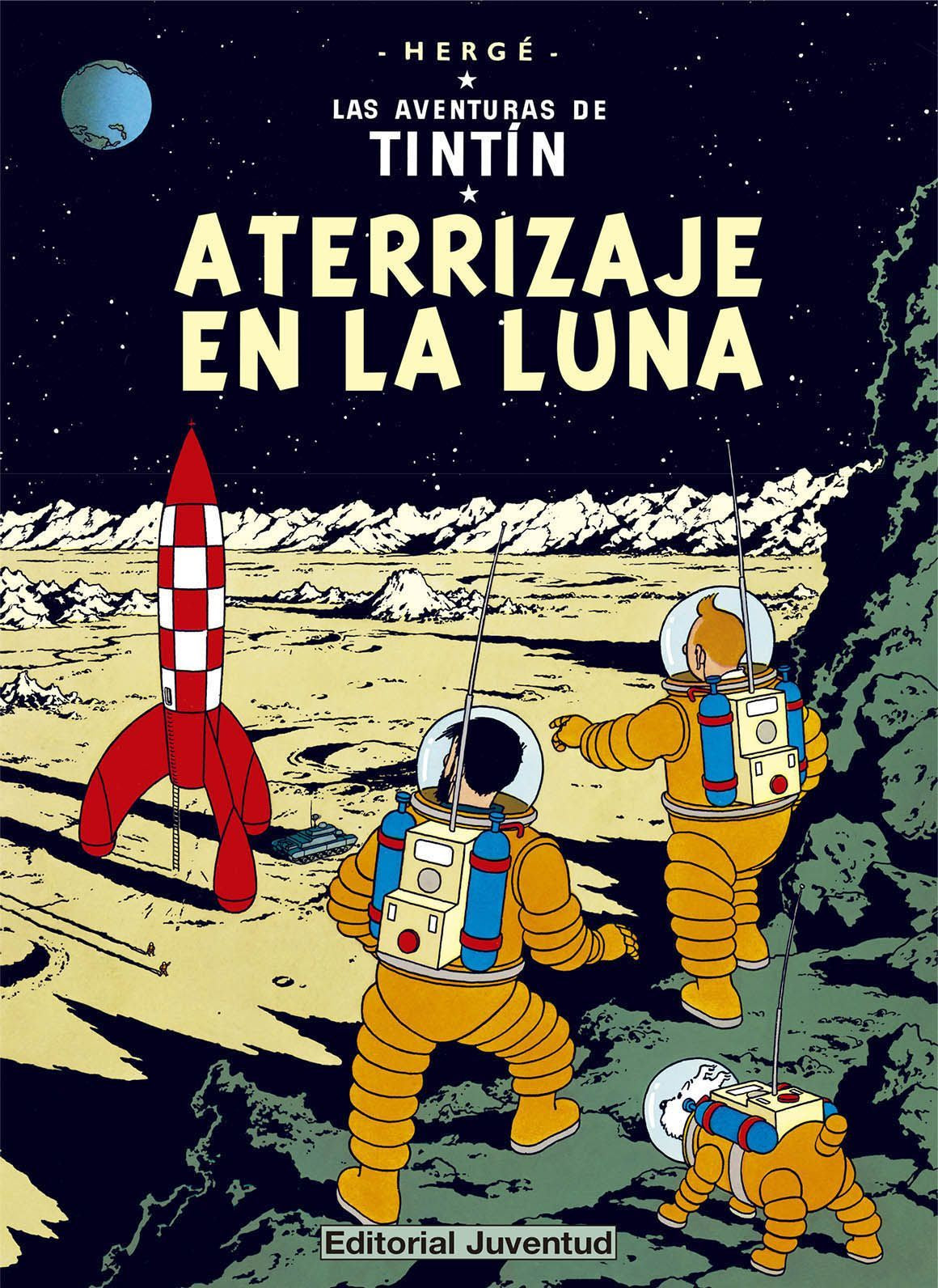 SPANISH ALBUM #17: EXPLORERS ON THE MOON