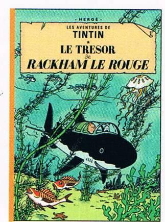 FRENCH ALBUM #12: RED RACKHAM TREASURE