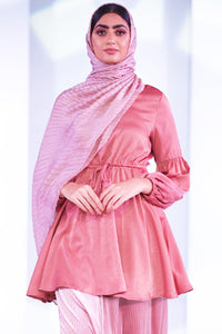 Robin Silk Dress Top Pink