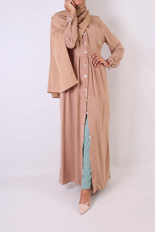Alizay Shirt Dress Nude