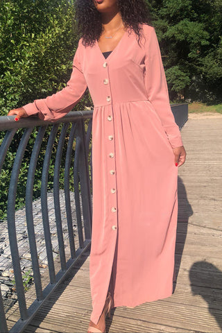 Alizay Shirt Dress Rose