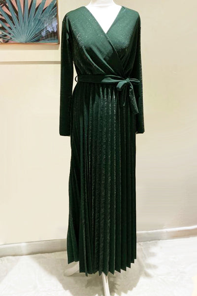 Nina Sparkle Maxi Dress Black