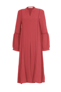 Simone Soft Blend Midi Dress Raspberry