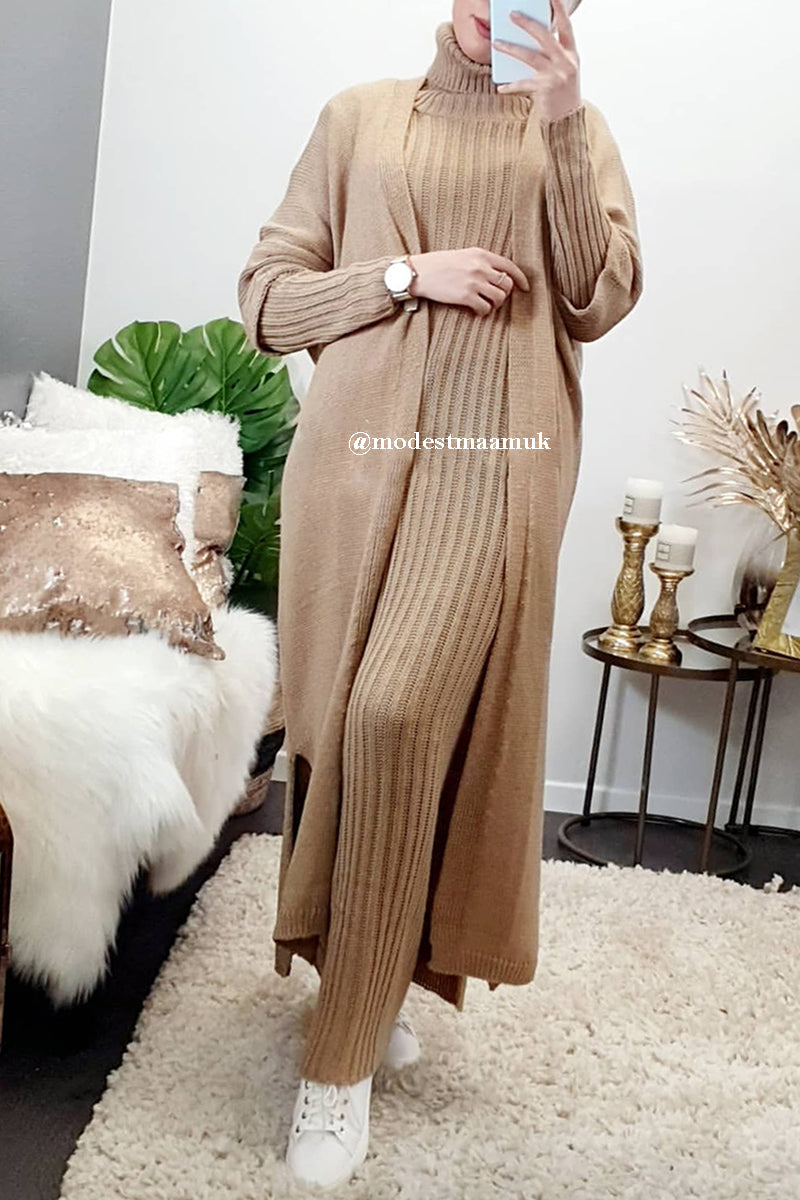 Nadine Co-ord Set Camel