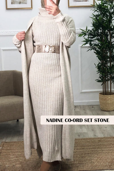 Nadine Co-ord Set Stone