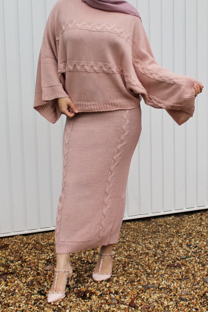 ALYSIA Co-ord set Pink