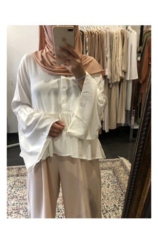 Primrose Blouse White