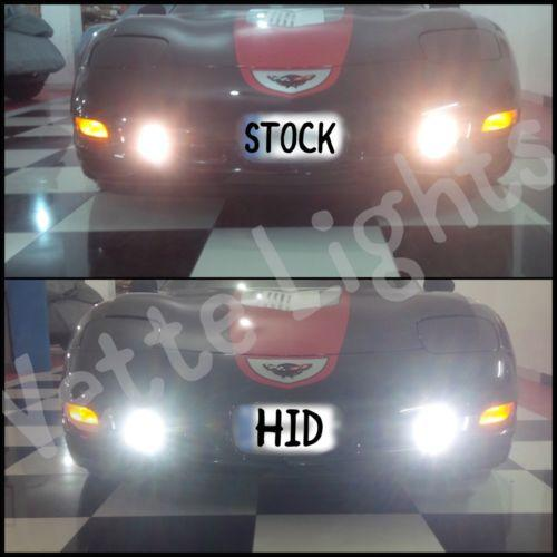 1997-2004 c5 Corvette Vette Lights 55w HID Fog Light Conversion Kit
