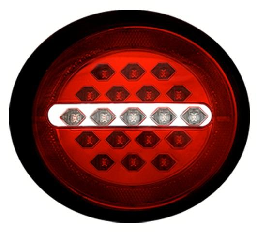 2005 - 2013 C6 Corvette Vette Lights Max Red LED Tail Lights (Set)