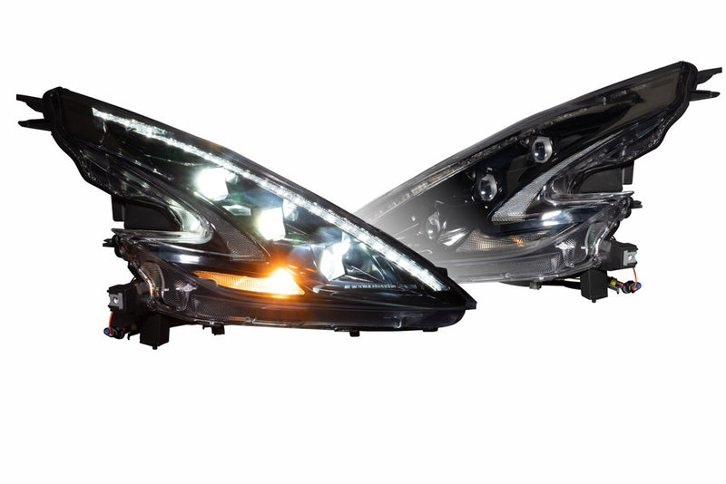 Nissan 370Z: XB LED Headlights (Tri-Beam LED)