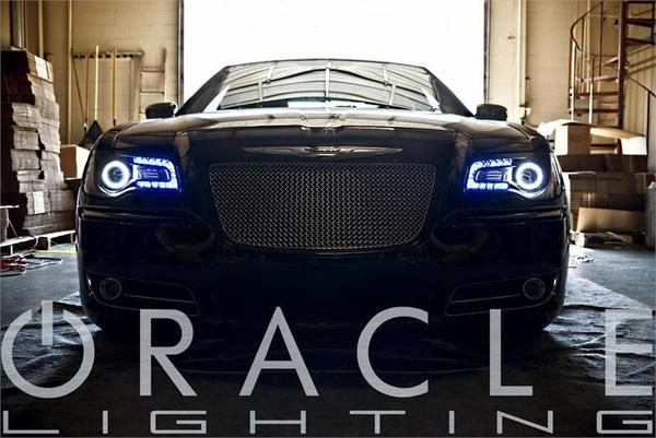 2011-2019 Chrysler 300C Oracle ColorSHIFT Halo Kit + ColorSHIFT DRL