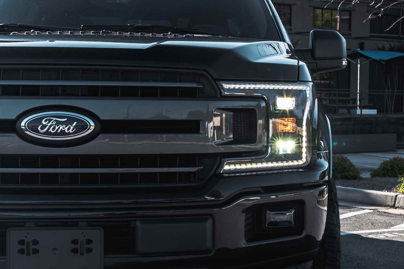 2018-2020 Ford F-150 XB Hybrid LED Headlights