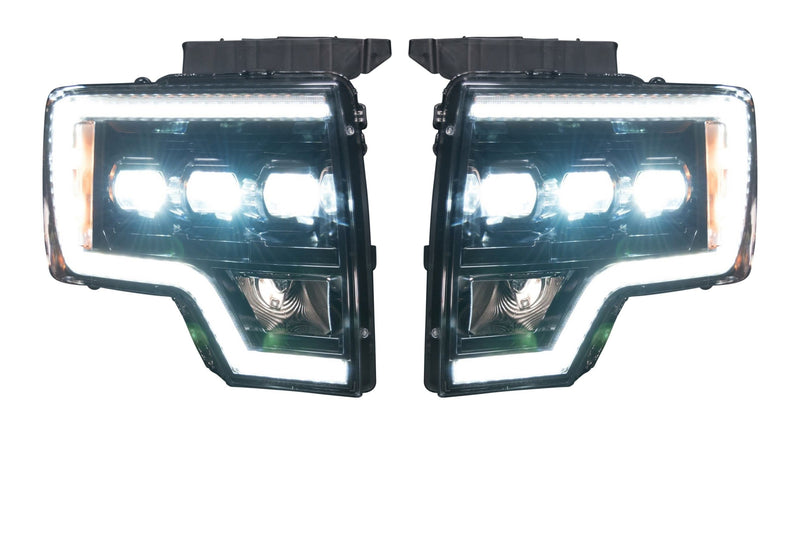 2009-2014 Ford F-150 and Raptor: MORIMOTO XB LED HEADLIGHTS