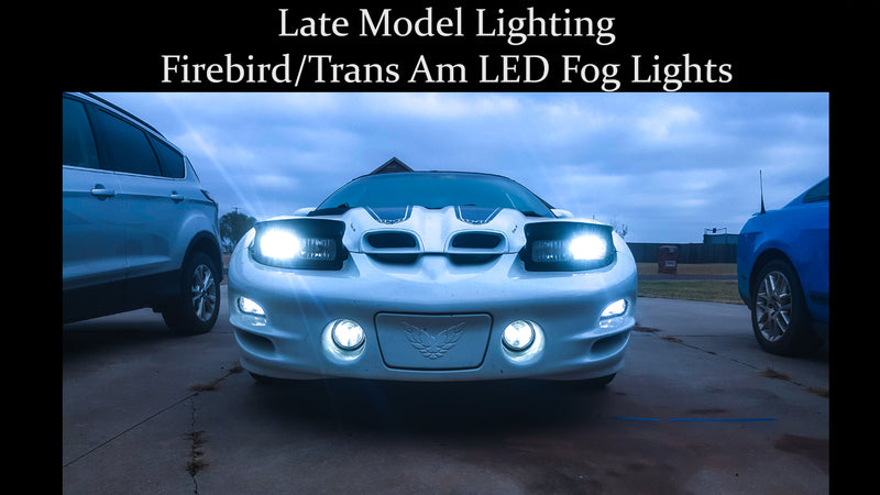 Pontiac Firebird/Trans Am LED Fog Lights - Brightest Available