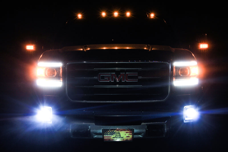 1999-2017 Chevrolet Silverado/GMC Sierra Fog Light LED Kit