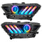 2015-2017 Ford Mustang Dynamic ColorSHIFT BLACK SERIES Headlights (Full Headlights)