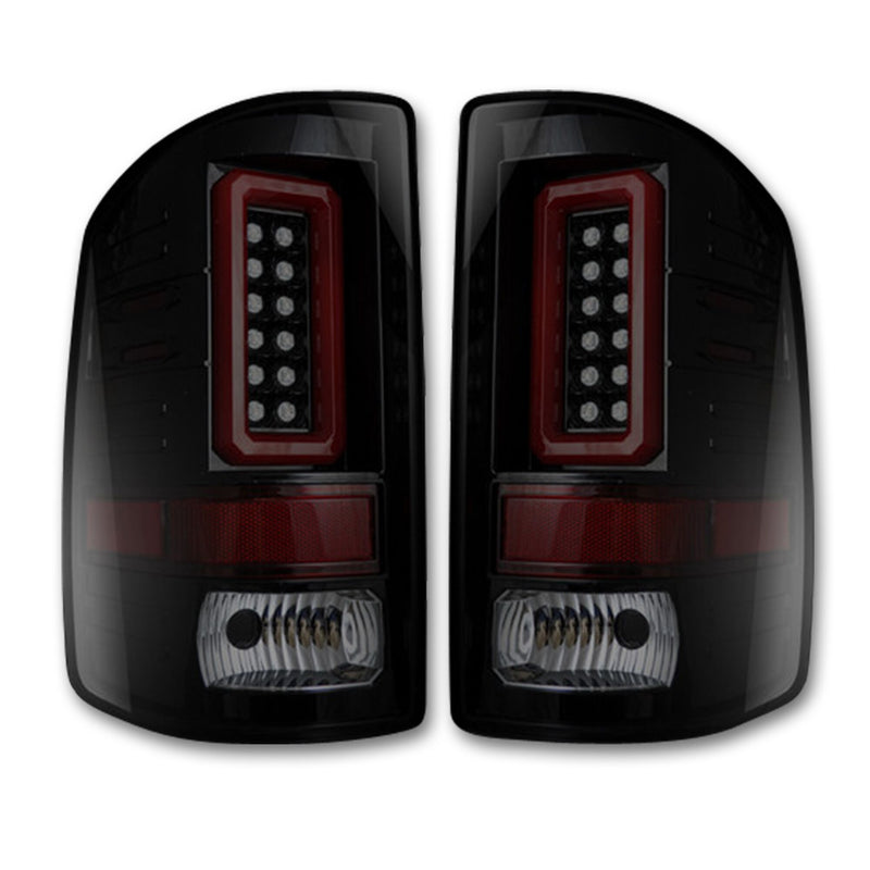 2014-2018 GMC Sierra RECON LED Halo Tail Lights (For OEM LED Trucks)