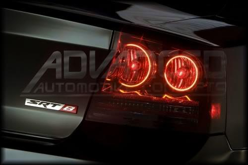 2009-2010 Dodge Charger Halo Tail Lights (Fully Assembled)