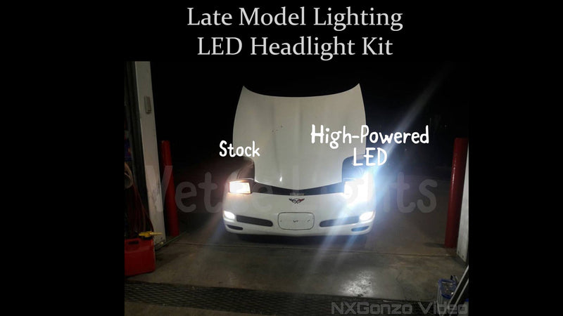 2008-2009 Pontiac G8 LED Headlight Kit - Brightest Available