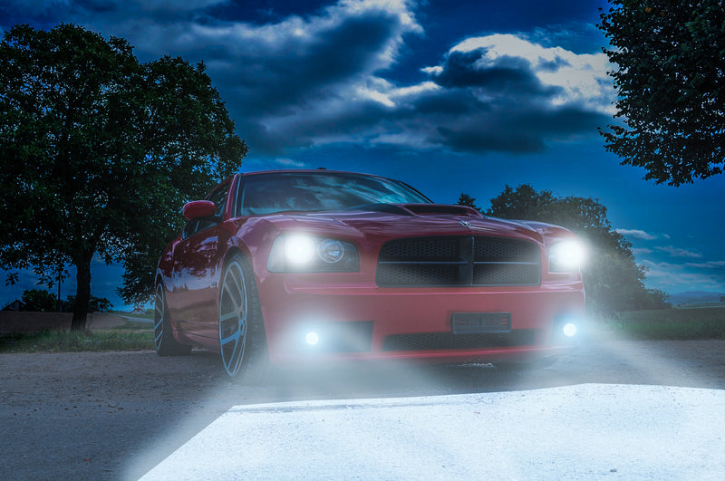 Dodge Charger High Powered Headlight LEDs