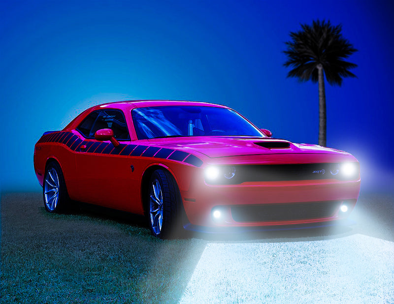 Dodge Challenger High Powered LED Headlight Kit