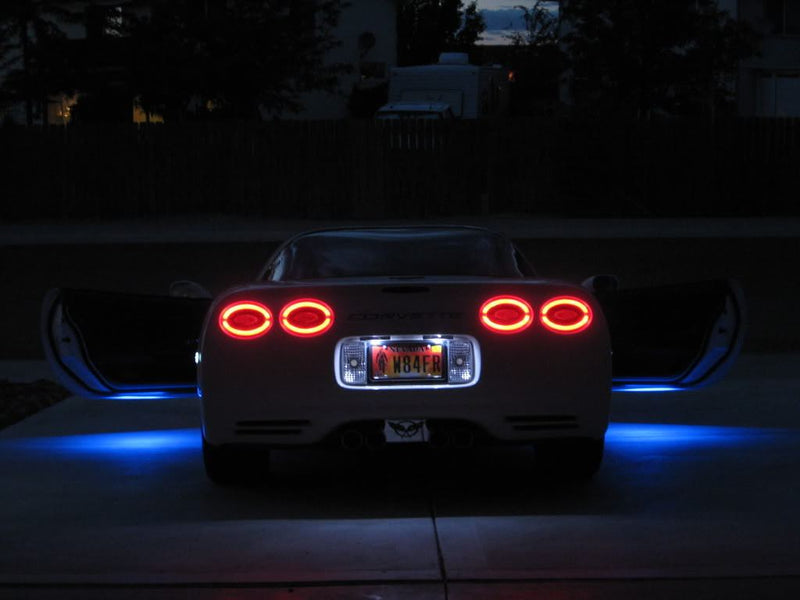 1997-2004 C5 Corvette Vette Lights LED Halo Tail Lights