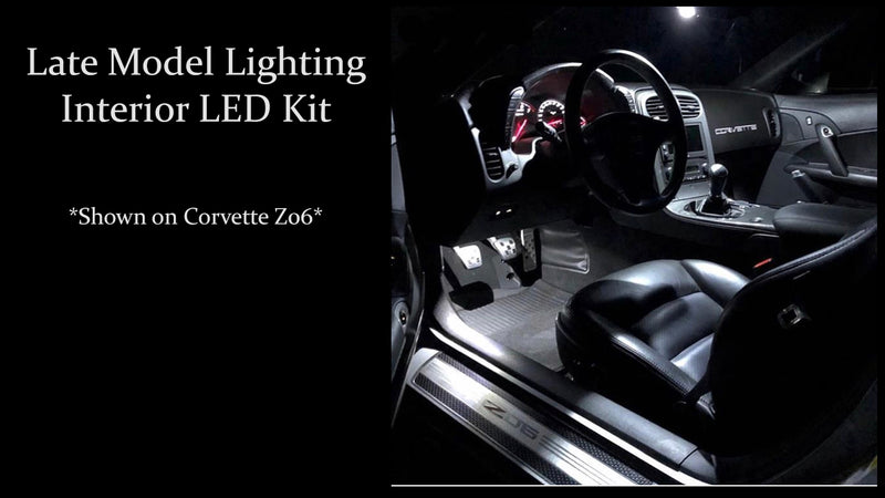 2005-2019 Ford Mustang Interior LED Kit - Brightest Available