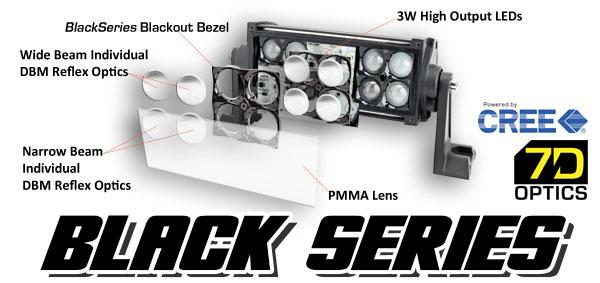 "ORACLE Black Series 52"" Dual Row LED Light Bar"