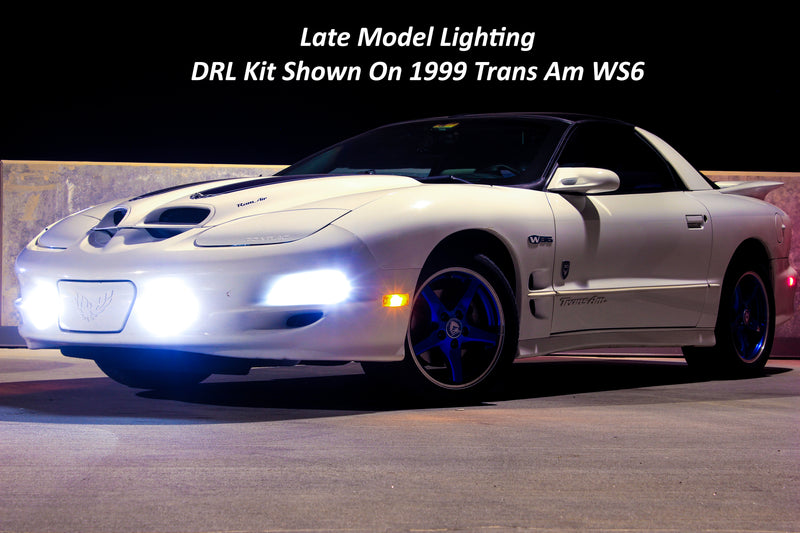 1997-2002 Chevrolet Camaro Switchback DRL LED Kit (Super Bright)