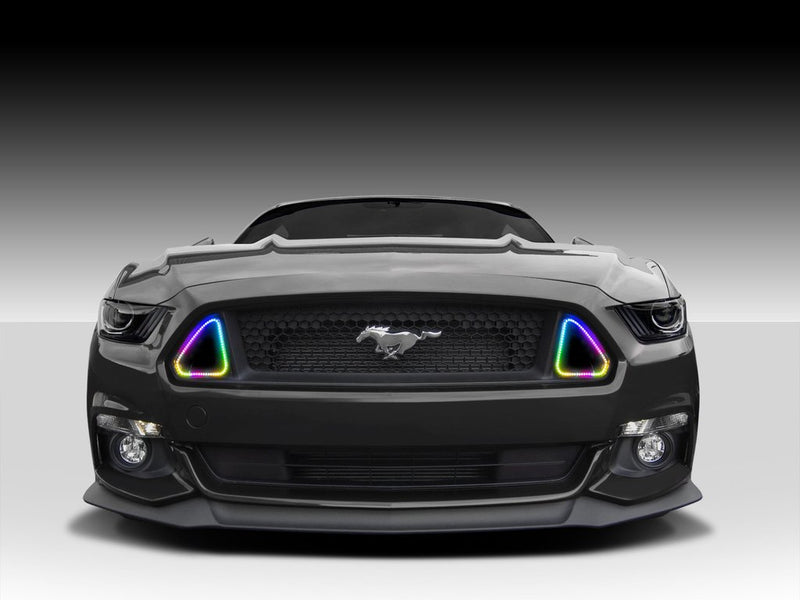 2015-2017 Ford Mustang Dynamic Colorshift Grill Vent Accent Lights