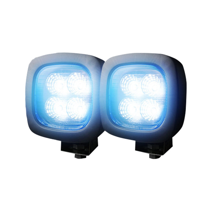 RECON LED Off Road/Utility Lights (Square, 1800 Lumen) 4.30″ x 3.00″ x 4.30″