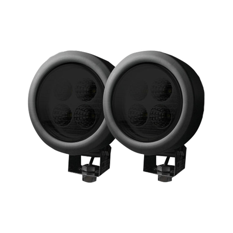 RECON LED Off Road Lights (Circular, 1800 Lumens) 4.65″ x 2.75″ x 4.65″